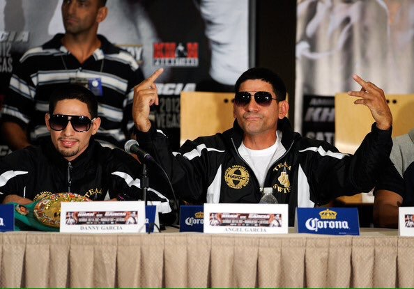 Angel Garcia Melts Down In Rage Filled Rant At Thurman-Garcia Press Conference