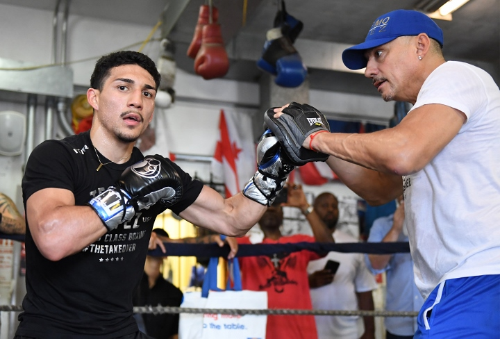 "Teofimo Lopez Sr.: ""The Kambosos Fight Is Going To Be Like The Magdaleno Fight, Don't See Him Lasting More Than Three Rounds"""