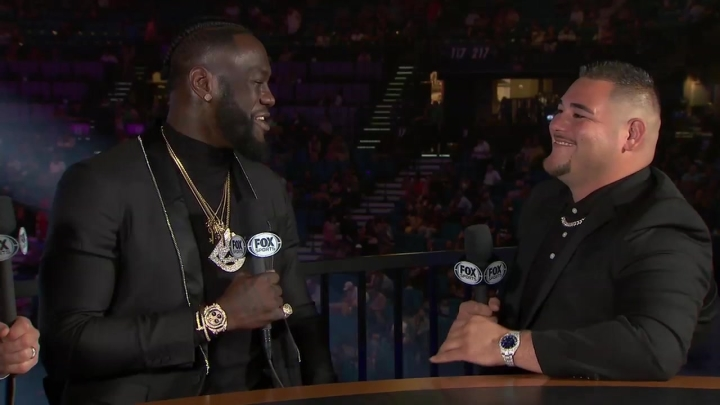 """Andy Ruiz Jr. More Then Willing To Face Deontay Wilder On Short Notice: """"Heck Yeah, Call Me Right Up"""""""