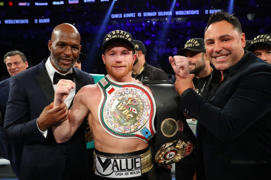 """Bernard Hopkins: """"Canelo Can Compete All The Way Up To Cruiserweight As Far As I'm Concerned"""""""