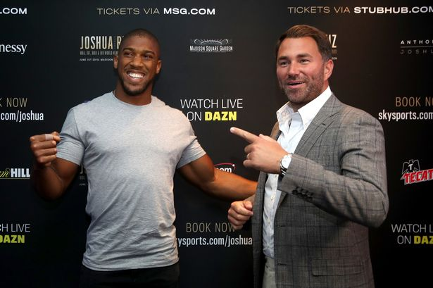 """Eddie Hearn On Fury-Wilder: """"I've Told You The Fight Wouldn't Happen."""""""