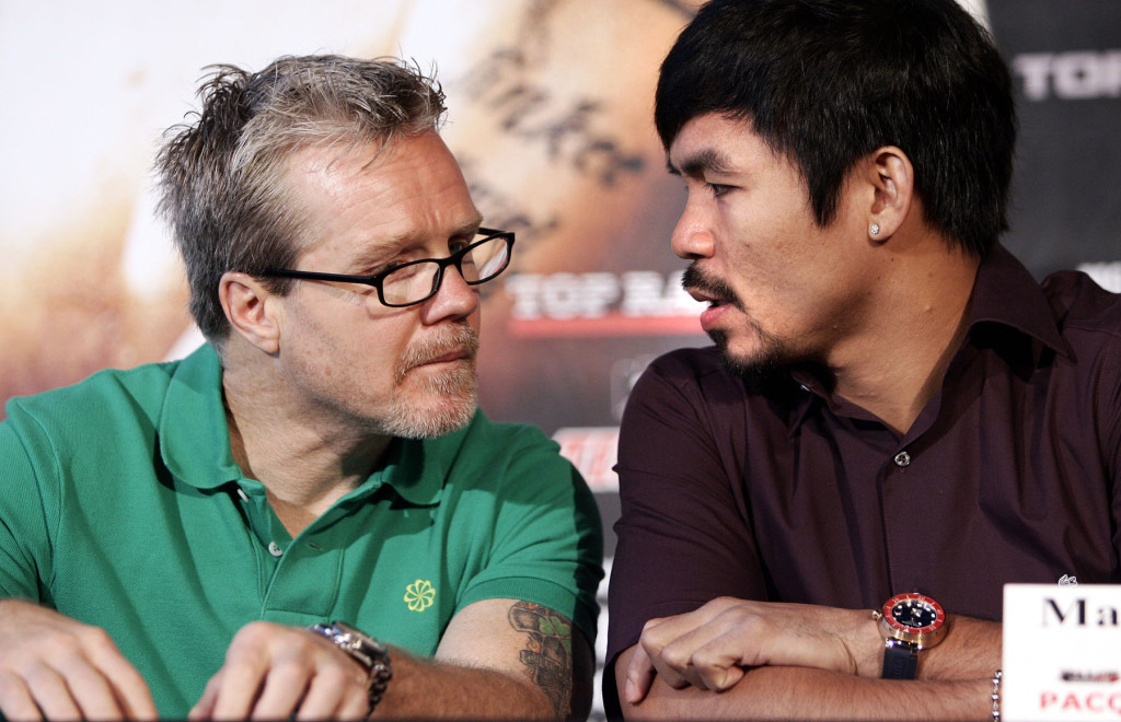 """Freddie Roach: """"It's All About Boxing Immortality For Manny Pacquiao"""""""