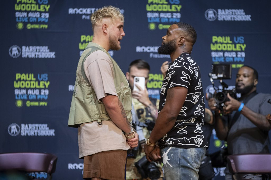 Shawn Porter Thinks Tyron Woodley Has What It Takes To Best Jake Paul