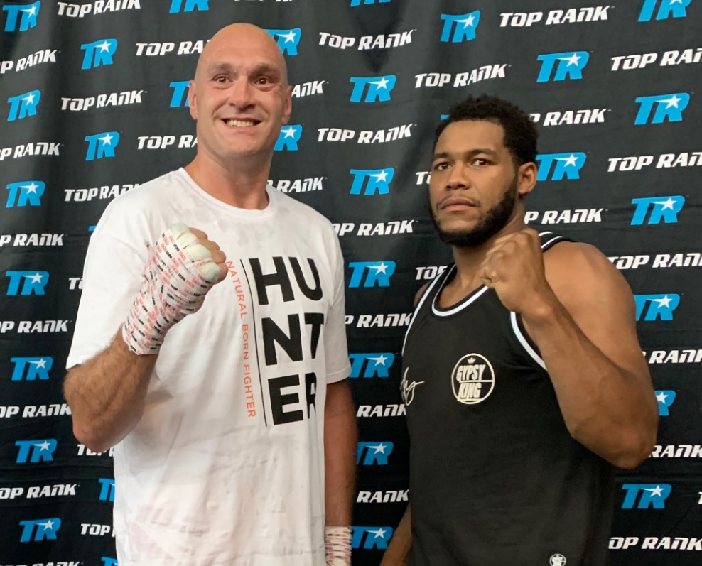 """Michael Hunter On Tyson Fury: """"He Wasn't Doing Too Well In The Gym"""""""